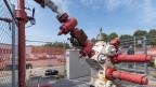 Wegen der Zunahme von Mikro-Erdbeben im Jahr 2017 wird beim 2011 verschlossenen Basler Geothermie-Bohrloch kontrolliert Druck abgelassen.