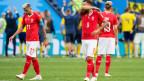 Schweizer Nationalmannschaft scheitert an der WM 2018 im Achtelfinal.