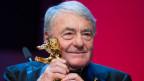 Claude Lanzmann anlässlich der Vergabe des Goldenen Bären an der Berlinale in Berlin.