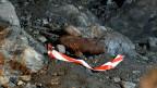 Eine 50kg Fliegerbombe im ehemaligen Munitionslager Mitholz im Kandertal. Im vor 71 Jahren explodierten ehemaligen Munitionsdepot Mitholz der Armee im Berner Oberland besteht ein höheres Explosionsrisiko als bisher angenommen.