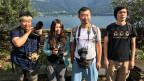 Jeder vierte Tourist aus China ist ein Individualtourist. Die chinesische Delegation von Biologen im Tessin.