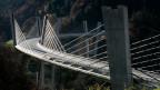 Die 526 Meter lange Sunnibergbrücke des Churer Ingenieurs und Brückenbauers Christian Menn.