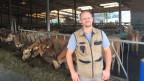 Martin Schuler möchte einen «all-in-one-Stall», wo  Jungtiere und Milchkühe zusammen gehalten werden.