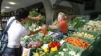 Gemüsemarkt.
