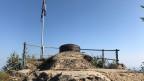 Blick auf den Beobachtungsposten der «Fortifikation Hauenstein». Bild: Patrick Künzle, SRF.