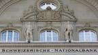 Fassade der Schweizerischen Nationalbank SNB in Bern.