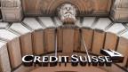 Eingang der Credit Suisse.
