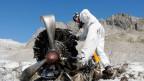 Armee räumt Dakota-Übrigbleibsel auf dem Gauli-Gletscher