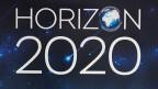 Ein Poster an der Lancierung des neuen Europäischen Rahmenprogramms für Forschung und Innovation, Horizon 2020.