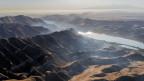 Sicht auf eine Teil der Silkway in China.