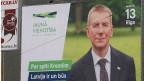 Lettland wählt.