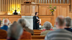 Gottesdienstes in der evangelisch-reformierten Kirche in Thalwil. Symbolbild.