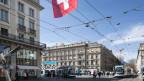 Zürich Paradeplatz: Der Finanzplatz Schweiz spielte eine wichtige Rolle.