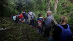 Flüchtlinge aus Honduras unerwünscht.