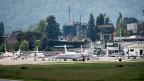 Flughafen Lugano-Agno.