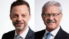 Der Zürcher SVP-Nationalrat Hans-Ueli Vogt (li) und der Freiburger CVP-Ständerat Beat Vonlanthen.