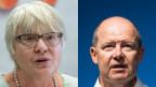 Nationalrätin Rosmarie Quadranti und Arbeitgeberpräsident Valentin Vogt.