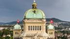Die Kuppel des Bundeshauses in Bern.