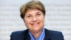 Die nominierte CVP-Bundesratskandidatin Viola Amherd während einer Medienkonferenz, am Freitag, 16. November 2018 in Bern.