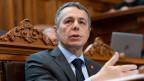 Aussenminister Ignazio Cassis stand in der Kritik.