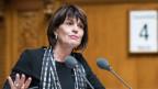 Bundesrätin Doris Leuthard spricht zum CO2 Gesetz, an der Wintersession am, 4. Dezember 2018 im Nationalrat in Bern.