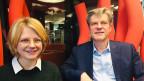 Charlotte Theile und Jan Dirk Herbermann.