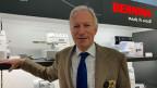 Hanspeter Ueltschi, Inhaber des Familien-Betriebs Bernina.