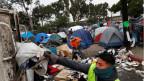 Überfüllte Flüchtlingscamps in Tijuana.