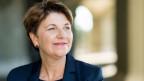 Die neue Bundesrätin Viola Amherd übernimmt das VBS.