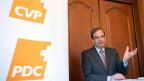 Gerhard Pfister, Parteipräsident CVP Schweiz, spricht beim Dreikönigsgespräch der CVP, am 4. Januar 2019 in Bern.