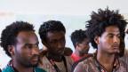 Asylsuchende Eritreer in der Schweiz.