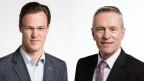 Werner Luginbühl, Ständerat der BDP des Kantons Bern (re.) und Bastien Girod, Nationalrat der Grünen des Kantons Zürich.