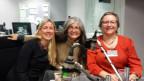 Von links nach rechts: Sandra Etter, Dorothea Keller, Brigitte Feldmann