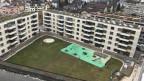 Wohnblocks der gemeinnützigen Baugenossenschaft Limmattal.
