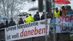 Gelbwesten protestieren in Deutschland.
