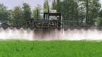 Der Verbrauch von Pflanzenschutzmittel geht zurück.