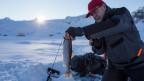 Schneeschuh-wandern, Eisfischen und Event-Gastronomie statt Skifahren. Symbolbild.