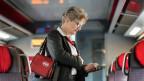 Kontrolleurin der SBB. Die Zugbegleitungen stehen unter Zeitdruck.