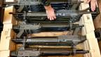 Symbolbild. Schweizer Sturmgewehre.