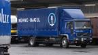 Ein Camion des weltweit tätigen Logistikunternehmens Kühne + Nagel