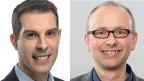 Thierry Burkart, FDP-Nationalrat und TCS-Vizepräsident, (links) und Michael Töngi, Nationalrat der Grünen.