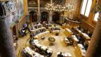 Der Ständeratssal im Bundeshaus.