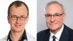 Urs Fischer, Neurologe (links) Gerhard Wiesbeck, Psychiater.