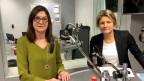 Zu Gast im Politikum sind SP-Nationalrätin Silvia Schenker (BS) und SVP-Nationalrätin Barbara Steinemann (ZH)