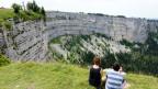 Der Creux du Van im Jura gilt als schützenswert und die Natur- und Heimatschutzkommission wacht über seinen Erhalt.