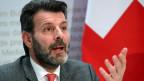 Staatssekretär Roberto Balzaretti, Leiter der Direktion für europäische Angelegenheiten.