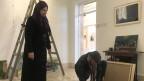 Nisreen Al Azza - ein Porträt der palästinensischen Künstlerin.