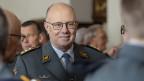 Philippe Rebord, der Chef der Schweizer Armee, tritt  auf Ende 2019 vorzeitig zurück.