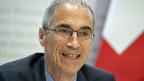 Serge Gaillard, Direktor der Eidgenössischen Finanzverwaltung an einer Medienkonferenz am 18. März 2019 in Bern.