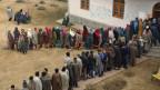 Parlamentswahlen in Indien.